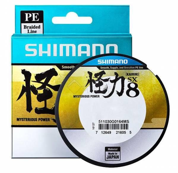 Леска плетёная SHIMANO Kairiki 8 PE 150м зеленая