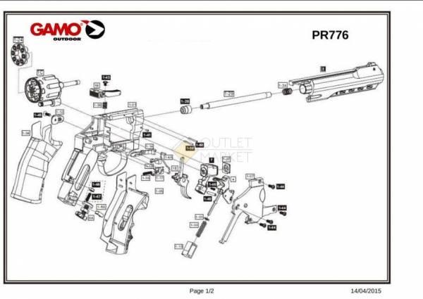 Пулевой магазин GAMO PR-776