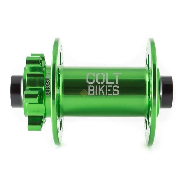 Втулка передняя Colt Bikes .30 15mm 32h Зелёный