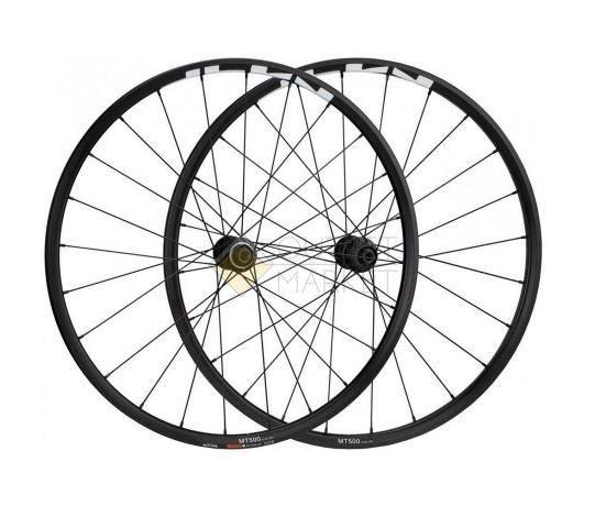 Комплект колес Shimano MT-500 QR-R 173мм 27.5 для 11ск. C.Lock OLD 100/135 черный