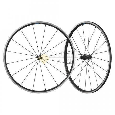 Комплект колес Shimano RS300 28 для 10-11ск клинчер OLD 100/130мм черный EWHRS300FRCB