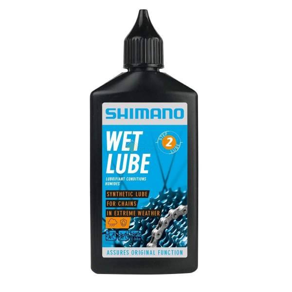 Смазка Shimano для цепи для влажной погоды