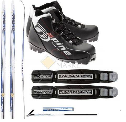 Лыжный Комплект с ботинками NNN  - 160см