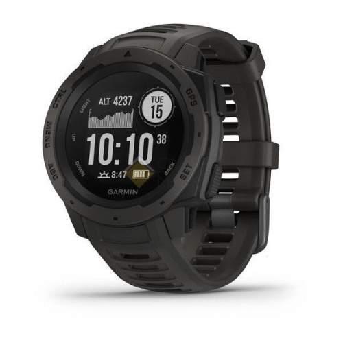 Защищенные GPS-часы Garmin Instinct цвет Monterra Gray