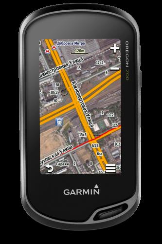 Навигатор Garmin Oregon 700t с картами России ТОПО 6 010-01672-10
