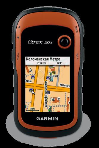 Навигатор Garmin eTrex 20X GPS Глонасс Russia