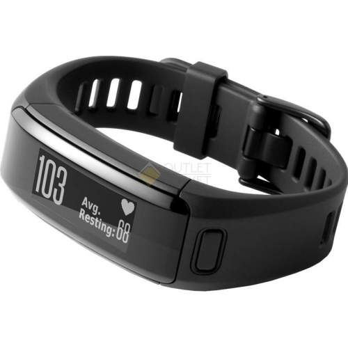 Фитнес-браслет Garmin VivoSMART HR Black large 010-01955-15