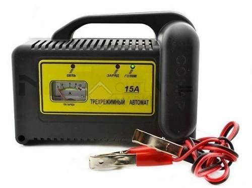 Зарядное устройство СОНАР Рыболов 15А для тяговых аккумуляторов ЗУ 207.03R 15 А