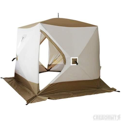 Палатка зимняя СЛЕДОПЫТ Premium 5-ти местная 3 слоя PF-TW-15