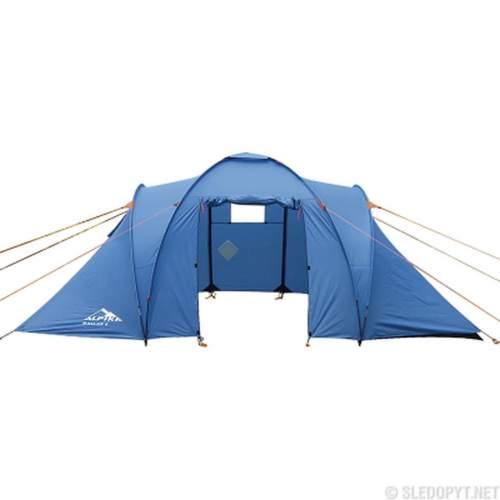 Палатка кемпинговая ALPIKA Dallas-4 4-х местная 2-х комнантная MB-TS-10