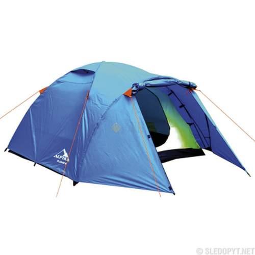 Палатка туристическая ALPIKA Ranger-4 4-х местная MB-TS-12