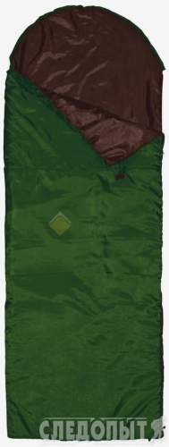 Спальный мешок-одеяло Defender left 200+35х90 зеленый PF-SB-21