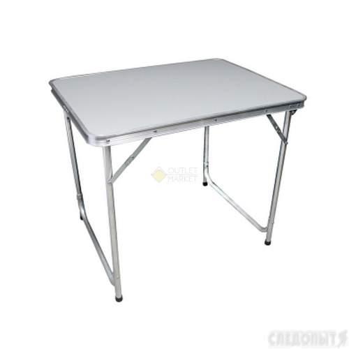 Стол складной СЛЕДОПЫТ 600х800х670мм столешница пластик PF-FOR-TABS02V