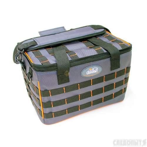 Сумка рыболовная СЛЕДОПЫТ Base Lure Bag XL 38х26х25 см + 5 коробок Luno 28 PF-BBA-01