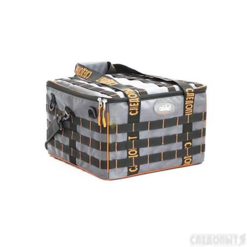 Сумка рыболовная СЛЕДОПЫТ Base Lure Bag XXL 38х38х25 см + 7 коробок Luno 28 PF-BBA-03