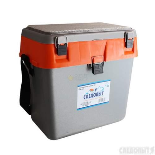 Ящик для зимней рыбалки СЛЕДОПЫТ 30 л PF-BU-W02