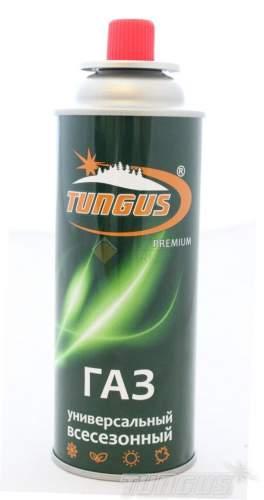 Газ для портативных плит Tungus Premium баллон 220г цанговый TN-FG-220