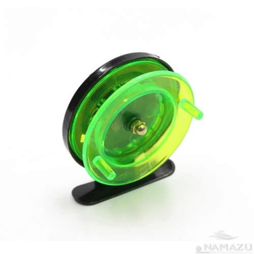 Катушка проводочная Namazu Scoter пластиковая 5 см зеленая N-50P01