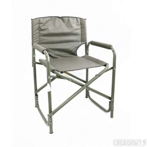 Кресло складное СЛЕДОПЫТ 585х450х825 мм сталь 25 мм хаки PF-FOR-SK07