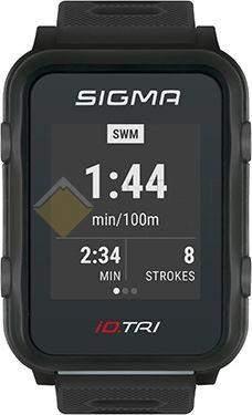 Часы спортивнык Sigma ID.TRI BLACK SET