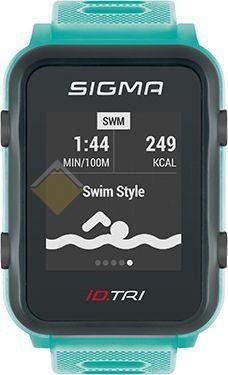 Часы спортивнык Sigma ID.TRI NEON MINT SET