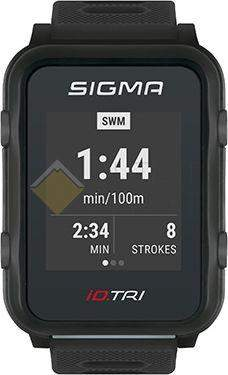 Часы спортивные Sigma ID.TRI BLACK BASIC