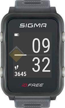 Часы спортивные Sigma ID.FREE GRAY