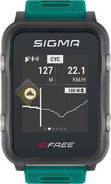 Часы спортивные Sigma ID.FREE GREEN