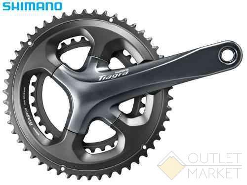 Система Shimano Tiagra 4700 170 мм 2x10 скоростей 48/34