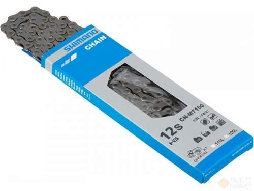 Цепь Shimano SLX M7100 12 скоростей 116 звеньев с замком