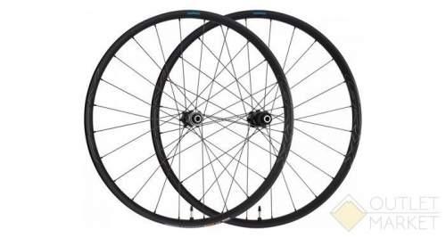 Комплект колес Shimano XT M8120-B 27.5под ось 15 мм/12 мм C.Lock черные