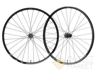 Комплект колес Shimano XT M8100-B 29 под ось 15мм/12мм C.Lock черные