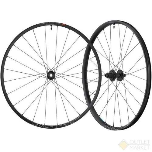 Комплект колес Shimano MT620-B-27.5 под оси F:15 мм/R:12 мм C.Lock OLD:110/148 мм черные