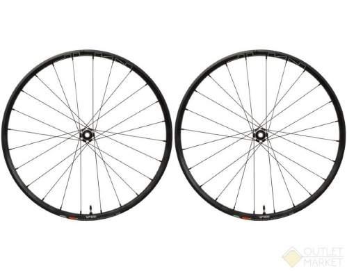 Комплект колес Shimano MT620-B-29 под оси F:15 мм/R:12 мм C.Lock OLD:110/148 мм черные