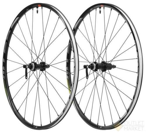 Комплект колес Shimano MT-500-B F:15/R12 мм E-THRU 29 для 11 сокростей C.Lock OLD 10