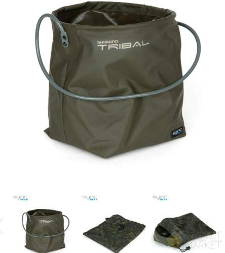 Ведро мягкое Shimano Sync Collapsible Bucket