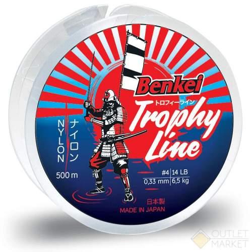 Леска Benkei Trophy Line 500m прозрачный