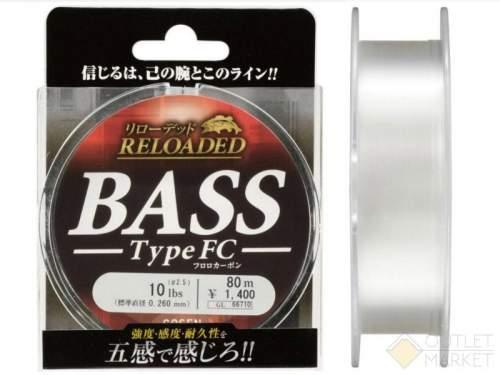 Леска Gosen Fluorocarbon Reloaded Bass FC