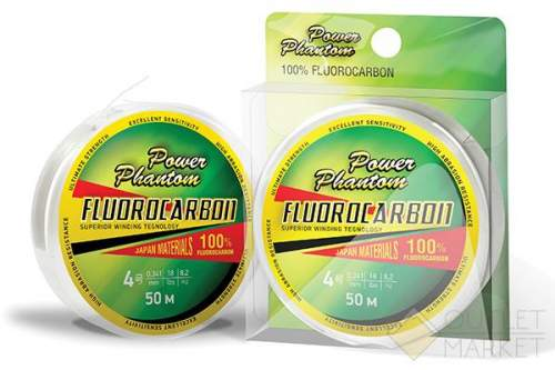 Леска Power Phantom Fluorocarbon прозрачный 30м