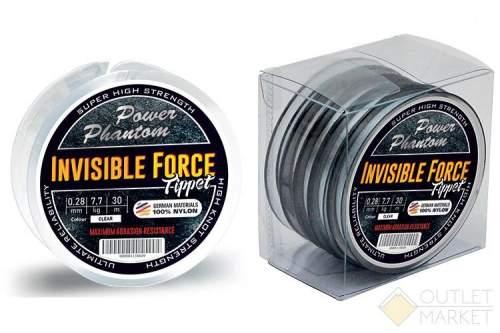 Леска Power Phantom Invisible Force Tippet CLEAR 30m