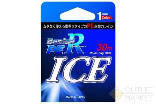 Шнур Benkei ICE 30м небесно-голубой