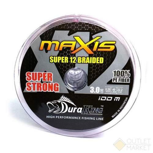 Шнур Duraking MAXIS 12X 150м разноцветный