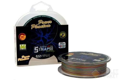 Шнур Power Phantom Synapse NANO PE 100m multicolor
