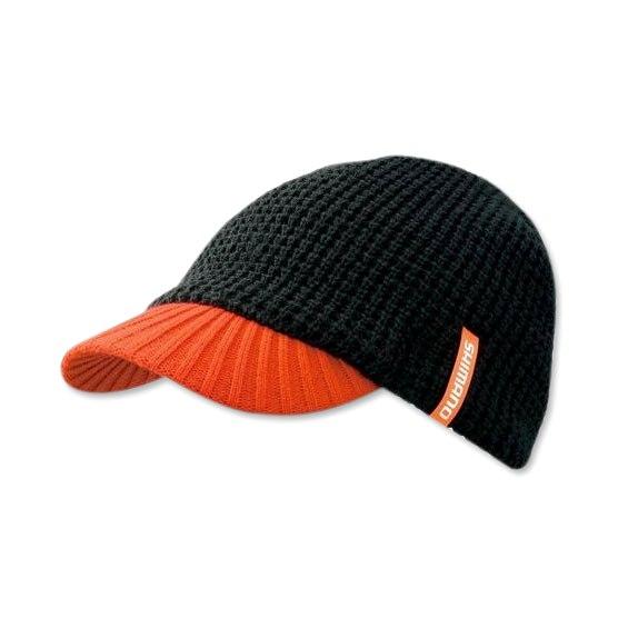 Шапка Shimano Knit Cap(with brim) CA-085M Цв. Черн р-р. Regular 5YCA085M1F