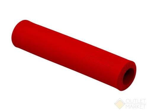Велосипедные грипсы Kellys KLS SILICA 130мм силикон красный
