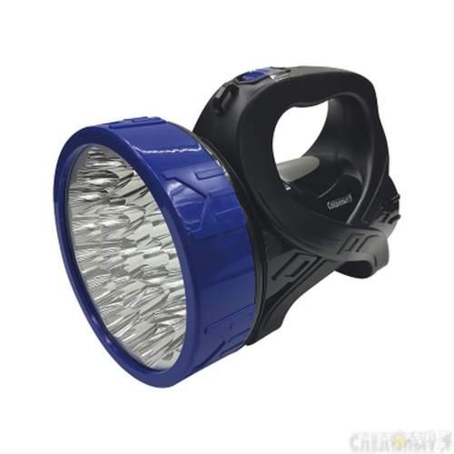 Фонарь-фара СИБИРСКИЙ СЛЕДОПЫТ-Сота 25 LED + 12 LED аккум. 220В USB
