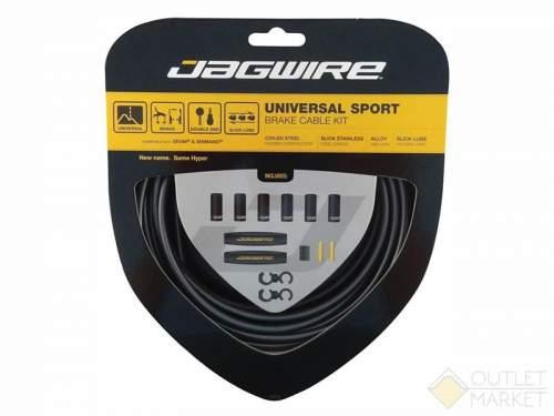 Тросы с оболочками Jagwire  для переключателей длинные комплект universal sport shift xl чёрный