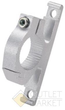 Адаптер CD-02 на руль 25,4мм для флягодержателя алюминий чёрный