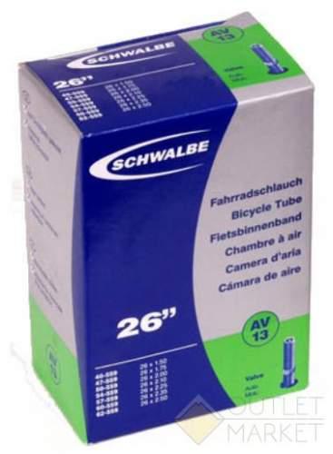 Камера Schwalbe 26 (40/62x559) AV13 40мм EK AGV