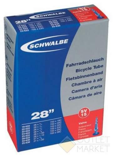 Камера Schwalbe 28 (18/28x622/630) SV15 60мм EK